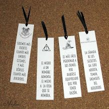 IMPRIMIBLE: MARCAPÁGINAS HARRY POTTER / PRINTABLE BOOKMARKS