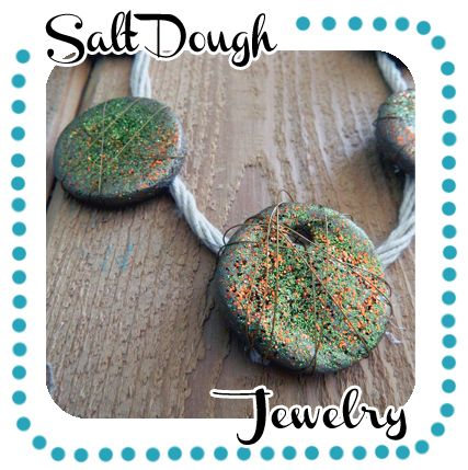 Salt Dough Recipe  Crafting Jewelry out of Salt Dough