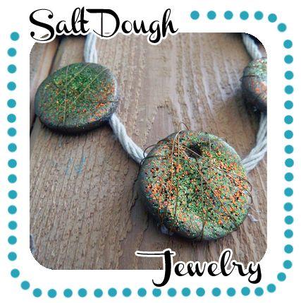 Salt Dough Necklace