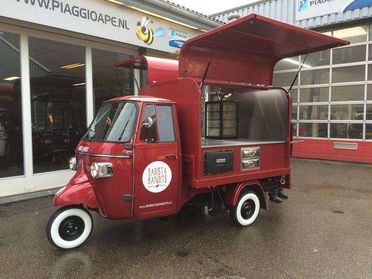 piaggio ape classic 400 barista bandits piaggio ape. Black Bedroom Furniture Sets. Home Design Ideas