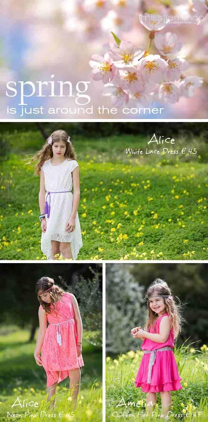 Spring is just around the corner!!! Get at www.missflamingo.gr group!!!