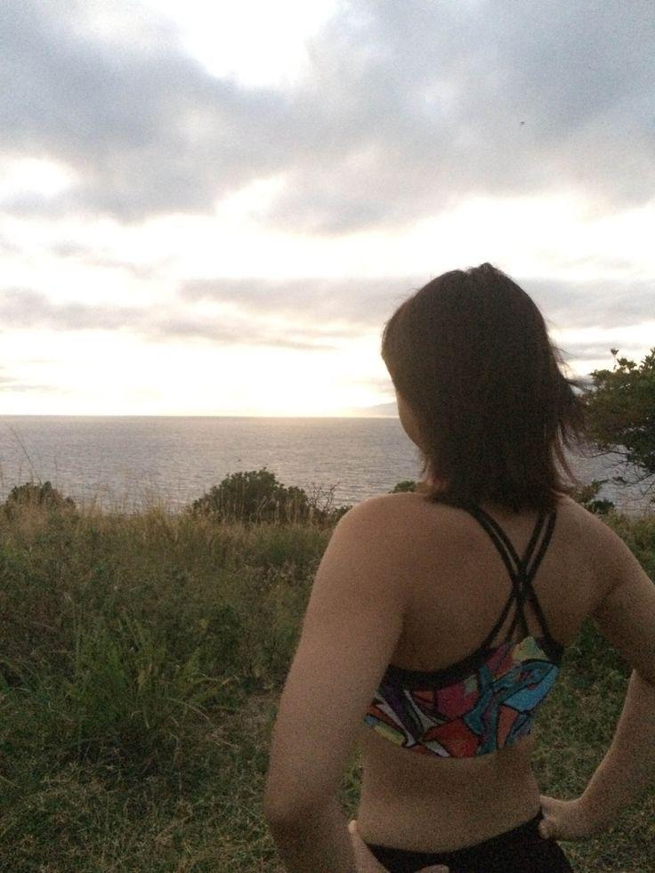 Sunrise run in Fiji!