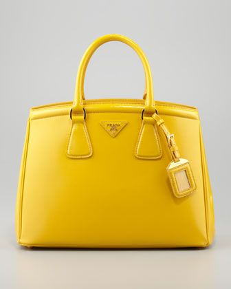 Prada Saffiano Parabole Tote Bag - Neiman Marcus