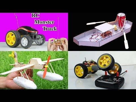 3 incredible ideas How to Make RC Toys - YouTube
