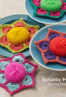Scrubby Posey (crochet)