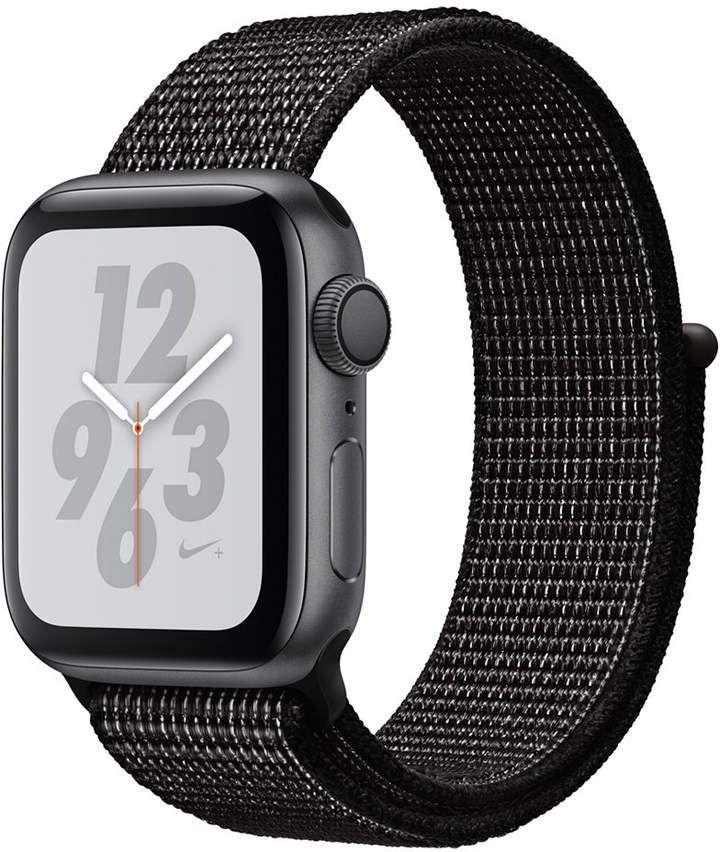Nike Series 4 Gps 40mm Space Gray Aluminum Case With Black Nike Sport Loop 40mm Aluminum Applewatch Black Apple Watch Nike Buy Apple Watch Apple Watch