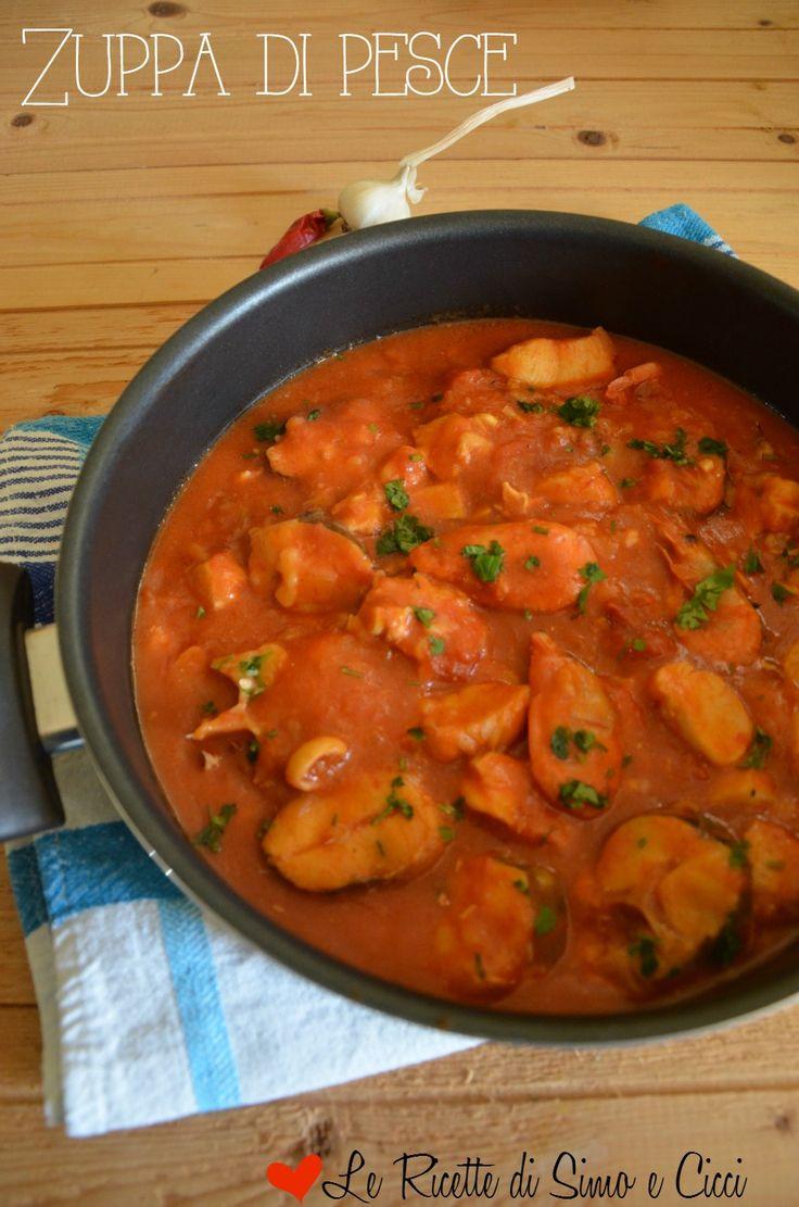 Zuppa di pesce cucina italiana recetas de pescado e for Cucina italiana pesce