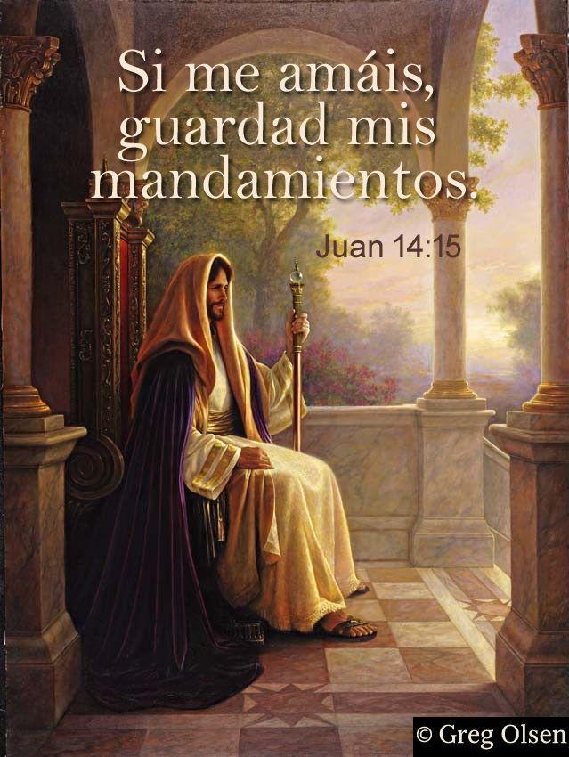 Matrimonio Biblia Paralela : Si me amáis guardad mis mandamientos reina valera 그리스도 y 예술품