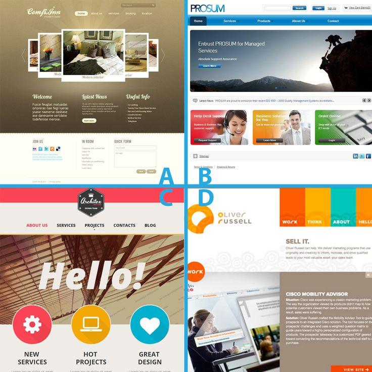 Which website design is your favorite? #website #design #webdesign