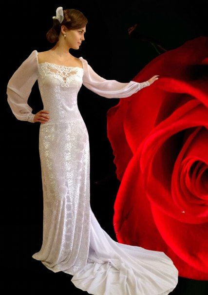 Wedding dress by Svetlana.