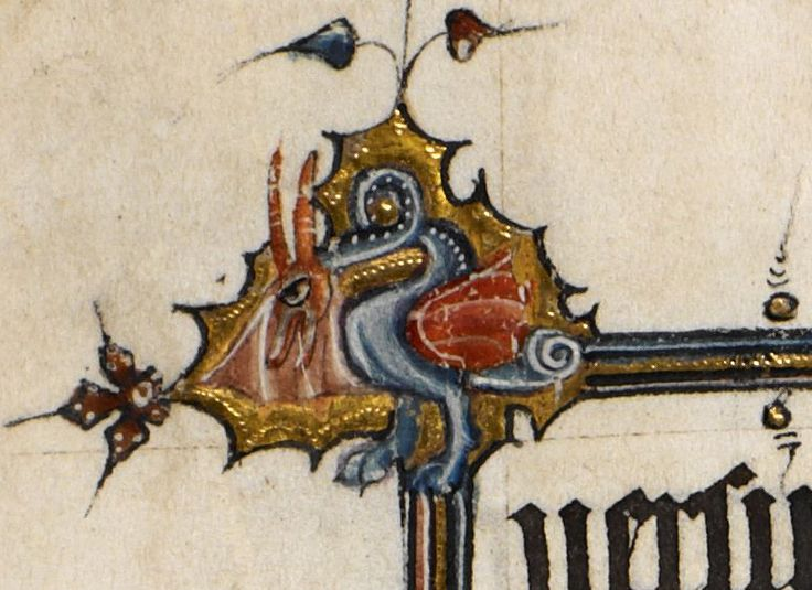 Detail Egerton MS 3277 Date 2nd half of 14th century  Title Psalter and Hours (the 'Bohun Psalter') f.7r