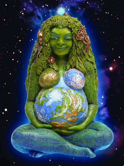 Gaea (goddess of the earth. Mother Earth) is the ...