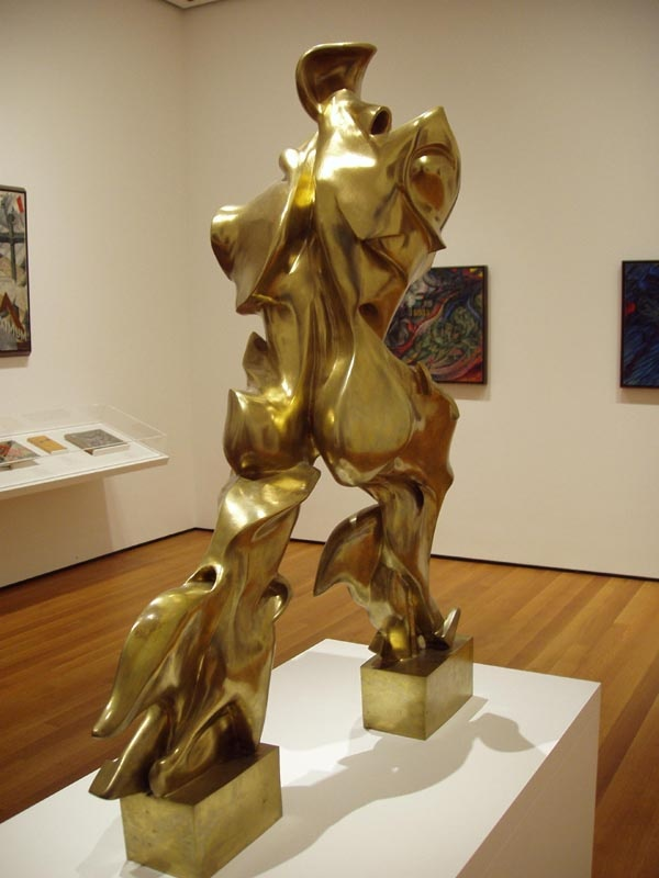"Umberto Boccioni, ""Unique Forms of Continuity in Space"" (1913); Museum of Modern Art, New York"
