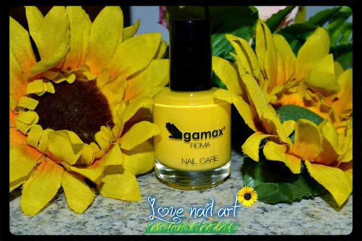LOVE NAIL ART: gamax smalto girasole...
