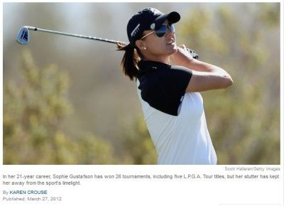Pro Golfer Speaks Up to the New York Times About Her Stuttering -  Pinned by @PediaStaff – Please Visit http://ht.ly/63sNt for all our pediatric therapy pinsSpeech Languages Activities, Public Speak, Languages Pathology, Speech Therapy, Speech Stuff, Speech Activities, Golfer Confrontation, Pro Golfer, Golfer Speak