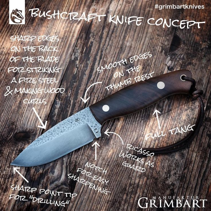 "Bushcraft knife essentials by Manufaktur Grimbart (@grimbartknives) auf Instagram: ""Grimbart Bushcraft knife essentials. If it comes to a serious survival situation every knife will…"""