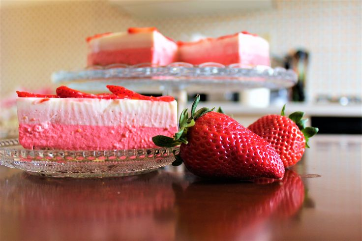 Cheesecake alle fragole! Strawberry cheesecake