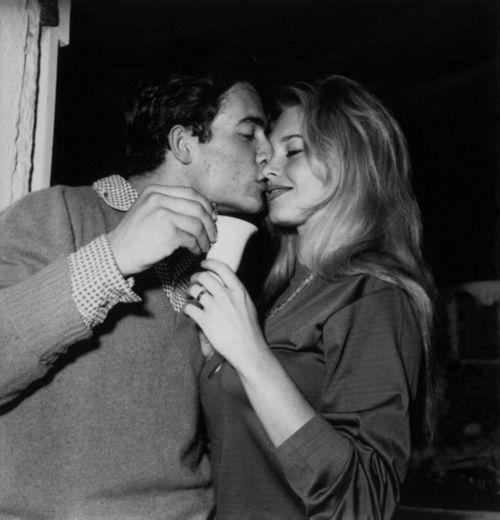 Marlon Brando and Brigitte Bardot