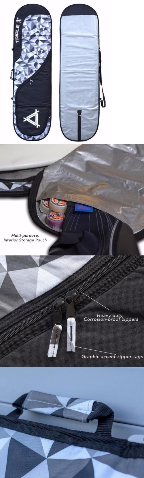 Board Bags and Socks 71165: New Triple X 7 6 Heavy Duty Funboard Surfboard Bag Pixel -> BUY IT NOW ONLY: $69.99 on eBay!