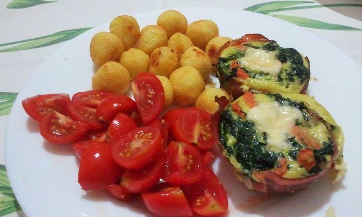 Frittatine di verdure con cuore filante in camicia sud-tirolese http://blog.giallozafferano.it/passioneperilcibo/frittatine-di-verdure-con-cuore-filante-in-camicia-sud-tirolese/