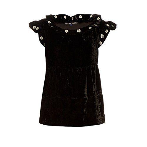 (ジュップ バイ ジャッキー) Jupe by Jackie レディース トップス カジュアルシャツ Mickey ruffle-trimmed embroidered silk-velvet top 並行輸入品  新品【取り寄せ商品のため、お届けまでに2週間前後かかります。】 表示サイズ表はすべて【参考サイズ】です。ご不明点はお問合せ下さい。 カラー:Black 詳細は http://brand-tsuhan.com/product/%e3%82%b8%e3%83%a5%e3%83%83%e3%83%97-%e3%83%90%e3%82%a4-%e3%82%b8%e3%83%a3%e3%83%83%e3%82%ad%e3%83%bc-jupe-by-jackie-%e3%83%ac%e3%83%87%e3%82%a3%e3%83%bc%e3%82%b9-%e3%83%88%e3%83%83%e3%83%97-2/