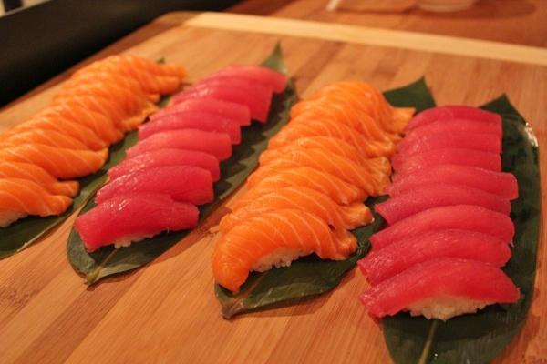 Kanji Sushi & Sake Bar, Toronto. Hip Japanese restaurant in Parkdale on Queen West.