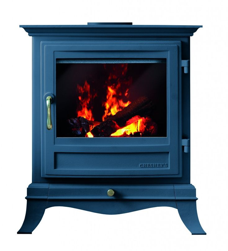 Chesney's electric stoves with Farrow & Ball in Hague Blue For the dining room