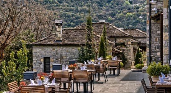 Aristi mountain resort in Zagorochoria Epirus Greece