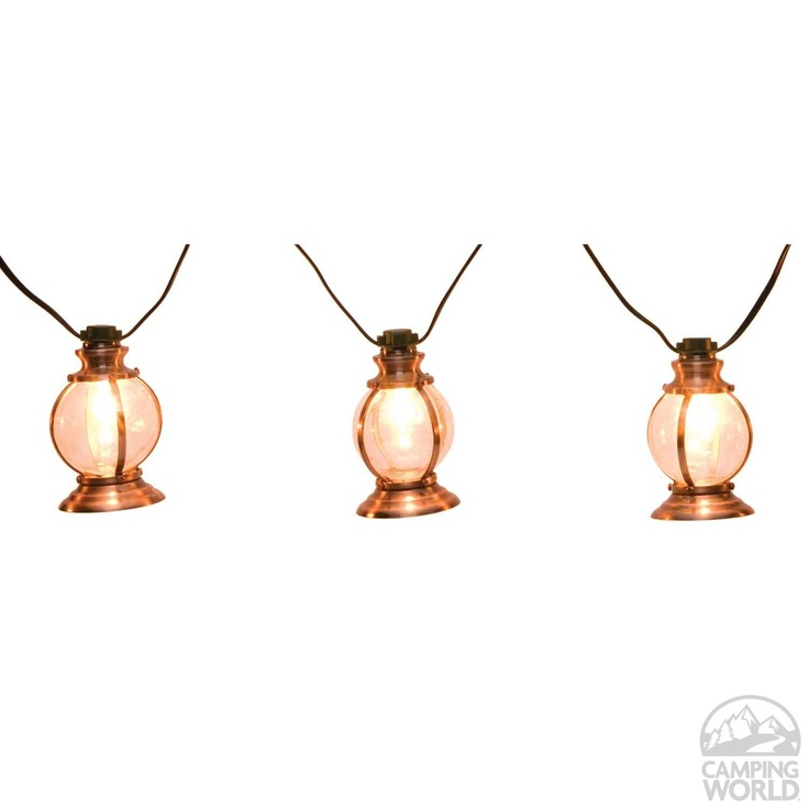 Copper Lantern Lights | 10 Light Set On 11u0027 Cord | Camping World Sale $28