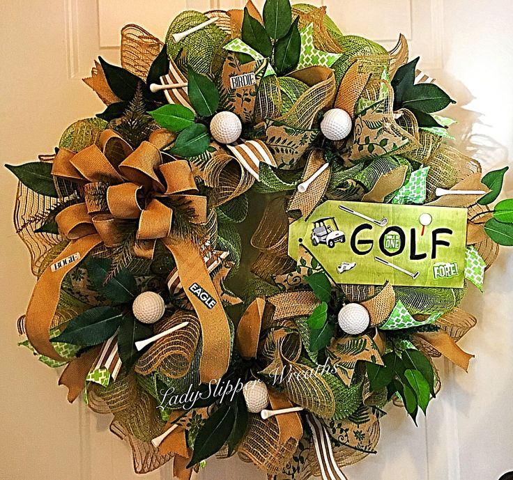 Golf Themed Craft Ribbon