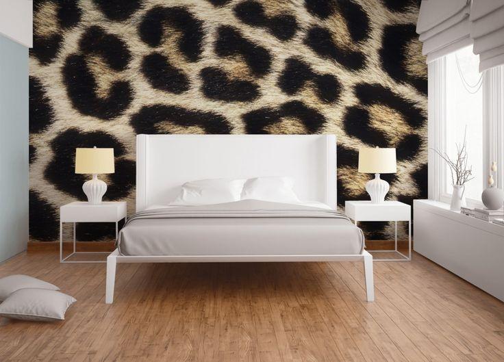 Die besten 25+ Leopardenmuster tapete Ideen auf Pinterest - tapeten wohnzimmer ideen 2013