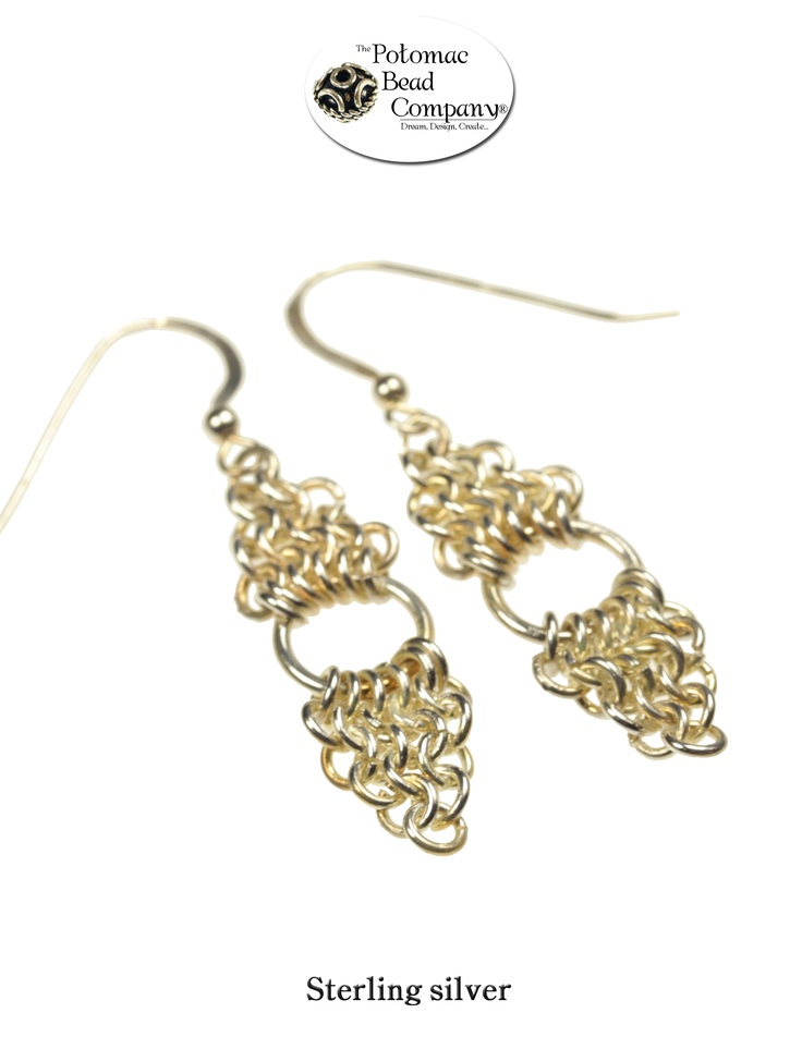 pin by potomac bead company on chain maille jewelry
