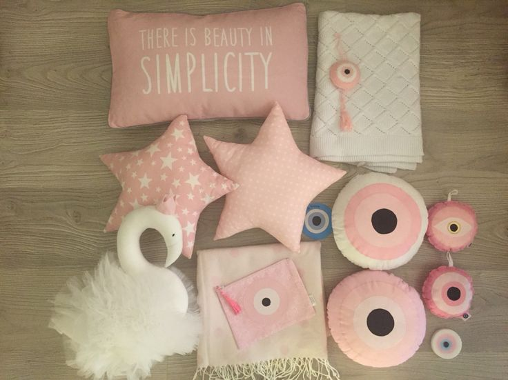 baby girl nursery decoration by cotton prince