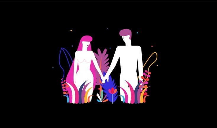 This Kaleidoscopic Animation Takes on the Story of Adam and Eve   The Creators Project