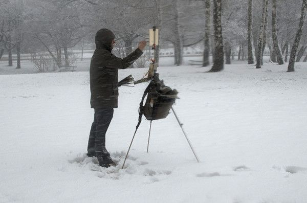 Winter Gear for Plein Air Painting   Marc Dalessio