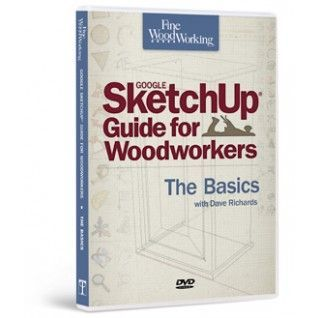 Fine Woodworking's Google SketchUp® Guide for Woodworkers - The Basics. My next book for sure.