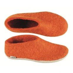handmade Scandinavian felt slippers- yes please