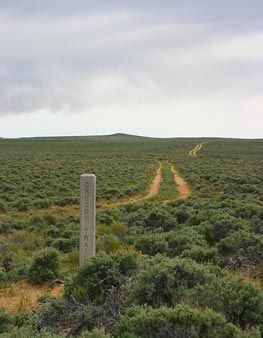 """The """"Oregon Trail"""" in Sweetwater County (and much of Wyoming) is actually four National Historic Trails in one corridor— Oregon, Mormon Pioneer, California and Pony Express."""