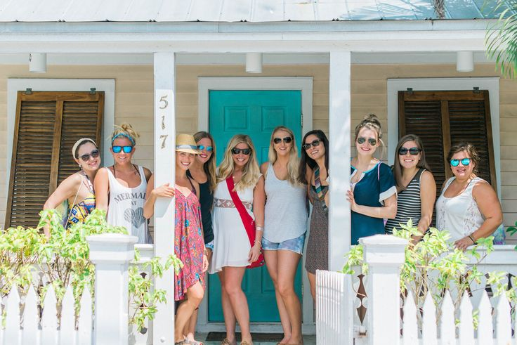 Key West Bachelorette Party Guide | Ultimate Bridesmaid | Kim Stockwell Photography