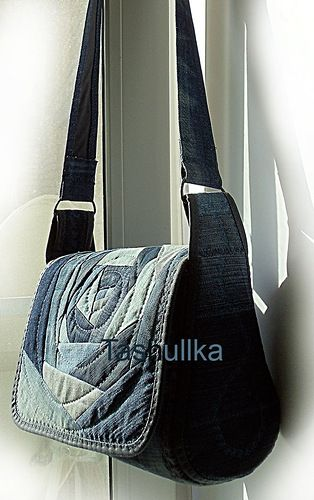 лоскутная мозаика: Сумка из джинс своими руками
