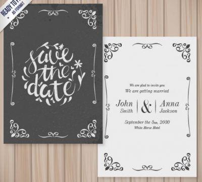 Desain Undangan Pernikahan Elegan Unik Minimalis 17 Template