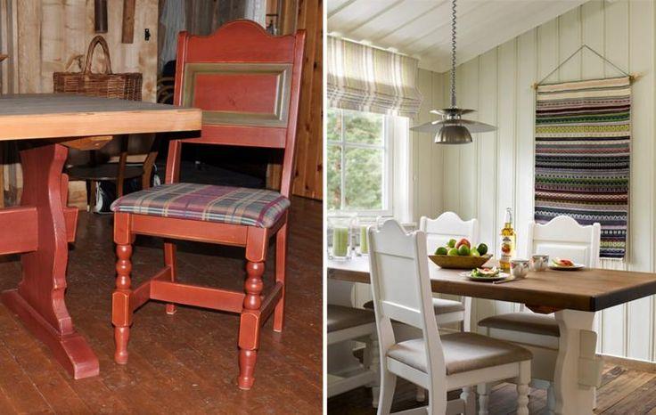 Male spisebord+stoler