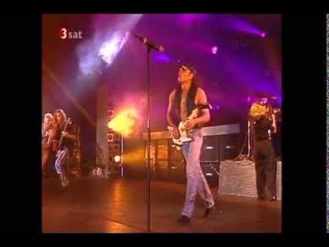 Scorpions live in Bremerhaven 1996
