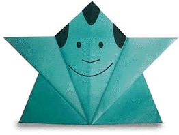 Origami Fukusuke -  Site has animation showing how to fold, when to fold. Great Site!