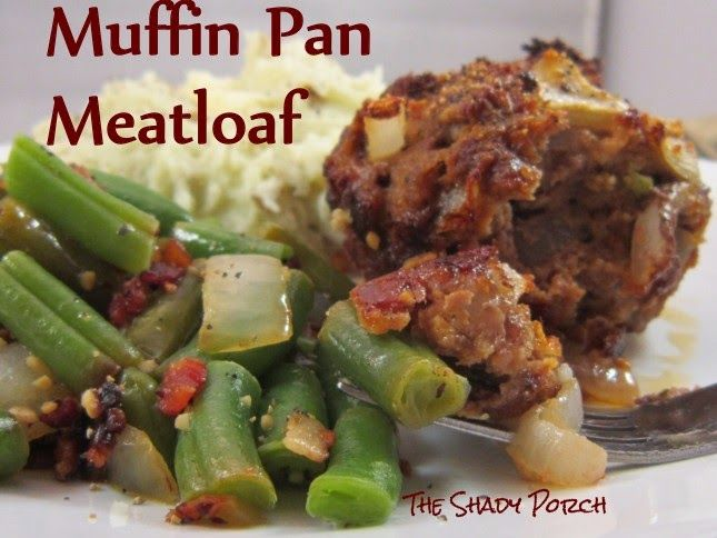 Muffin Pan Meatloaf Recipe - Everyone (at least in our house) likes the crusty corners on the traditional loaf pan. Using the jumbo muffin pan to bake the meatloaf allow...