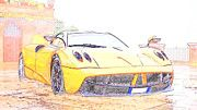 "New artwork for sale! - "" Pagani Huayra Supercars Italia  by PixBreak Art "" - http://ift.tt/2m4sNmw"