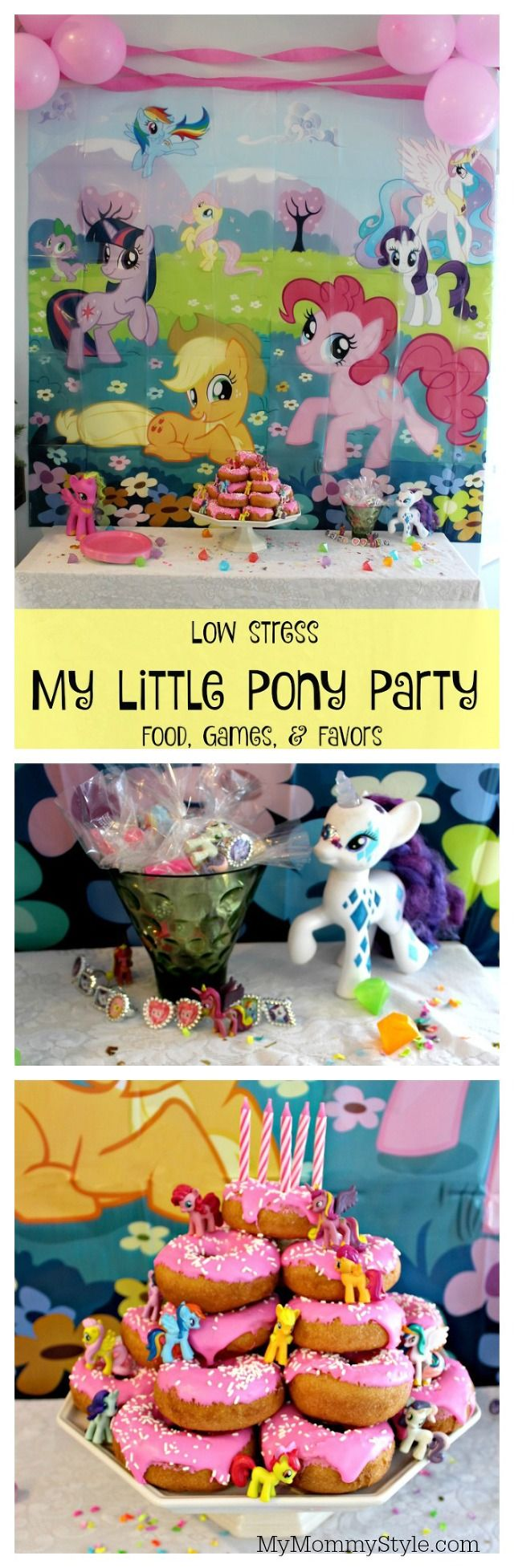Pin cara menghias kue cake decorating cake on pinterest - Super Fun And Easy My Little Pony Cake And All Of The Things You See Can