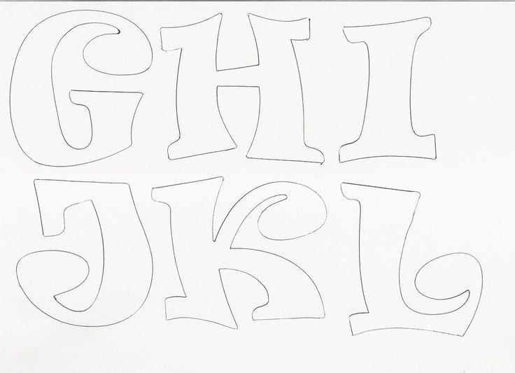 Molde de letras y numeros | RECREAR - MANUALIDADES - ARTE