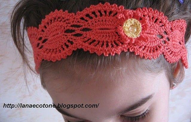 Cute headband with diagram
