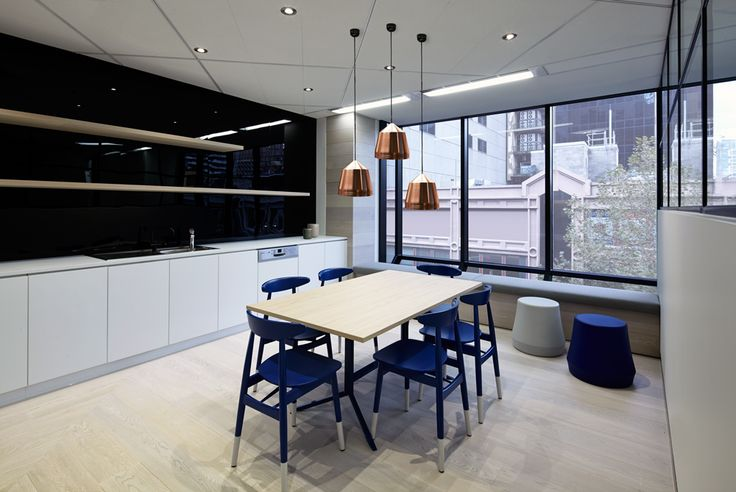 Rialto Commercial Office Fitout Kitchen
